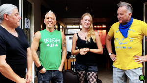 Nine Gees beim Konzert mit The Green Goblins im Heimat-Hafen-Neuenburg
