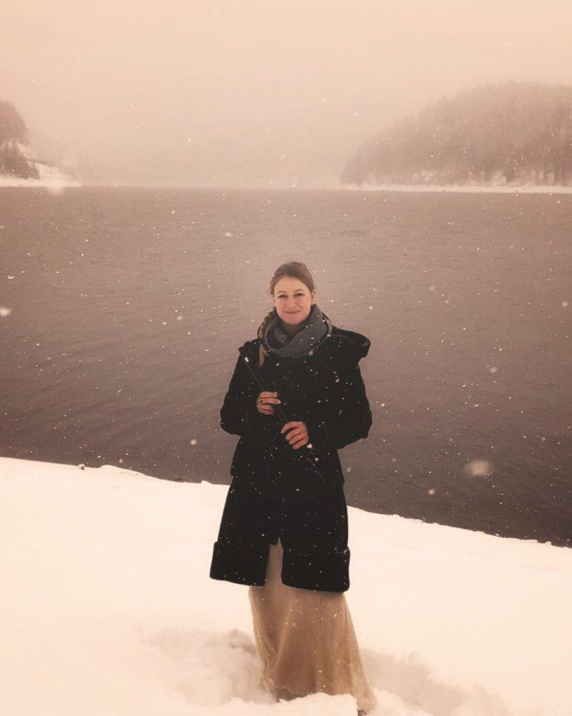 Nine Gees am Schneesee