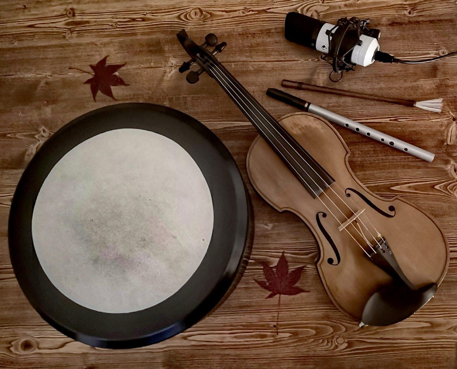 Instrumentenbild von Scattering Leaves
