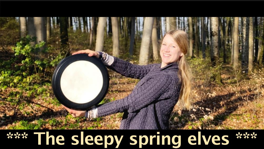 The sleepy spring elves
